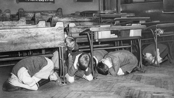 Image result for duck and cover drills 1950s